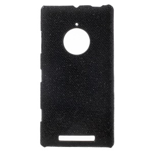 Glittery Sequins Coated Hard Case for Nokia Lumia 830 - Black