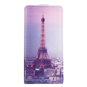 Eiffel Tower Vertical Leather Cover for Lenovo S850