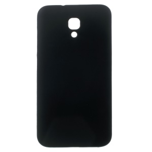 Frosted TPU Case for Alcatel One Touch Idol 2 S 6050Y 6050A 6050F - Black