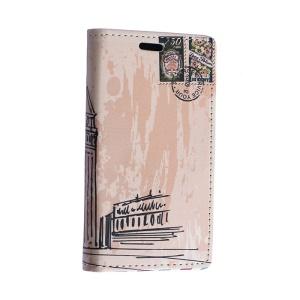 Retro Big Ben Leather Case Cover for Motorola Moto E2 XT1505 E+1 with Card Slots