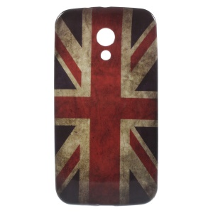 Vintage Union Jack Flag Soft TPU Case for Motorola Moto G2 XT1063 / Dual SIM
