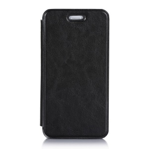 Crazy Horse Folio PU Leather Case for Asus PadFone S PF500KL Phone - Black