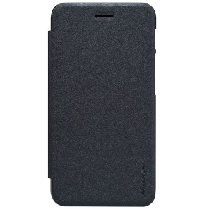 NILLKIN Sparkle Series Leather Case for Asus PadFone S PF500KL Phone - Black