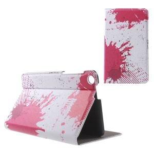 Patterned Stand Leather Cover for ASUS Fonepad 7 (FE171CG) - Sprinkling Painting