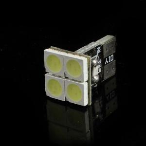 T10 5050LED 4Pcs 0.7W 12V LED Car Wedge Light Bulbs - White