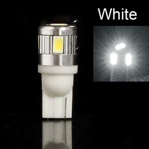 T10 3W 5730 6-LED Light Lamp Bulb - White