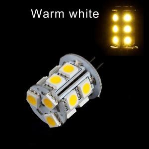 G4 2.6W 13 5050 SMD LED Light Bulb Spotlight - Warm White