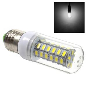 E27 5730 7W 48 LED Light Corn Lamp Bulb - White