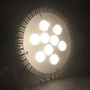 E27 810Lumens 9W 9-LED PAR38 Energy Saving Spotlight Bulb AC 85-265V - Cool White