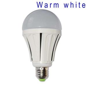 E27 9W SMD 2835 48-LED Light Bulb Lamp AC 85-265V - Warm White