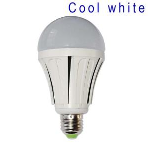 E27 9W SMD 2835 48-LED Light Bulb Lamp AC 85-265V - Cool White