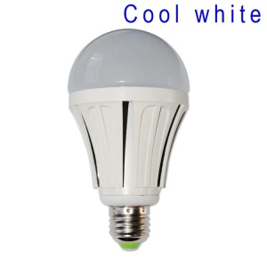 E27 12W SMD 2835 54-LED Light Bulb Lamp AC 85-265V - Cool White