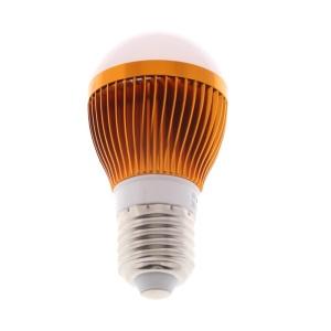 E27 3W SMD 5730 6-LED 270Lumens Light Bulb Lamp Gold Shell- Cool White