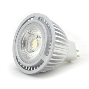 MR16 3W COB Dimmable LED Spot Lamp Bulb DC 12V - Cool White
