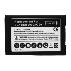 1500mAh Cell Phone M-S1 Battery Replacement for BlackBerry Bold 9000 9700 9780