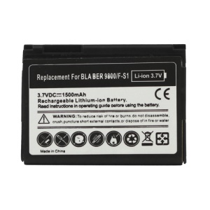 BlackBerry Torch 9800 9810 Battery Replacement 1000mAh F-S1 (Built-in Decoding Chip)