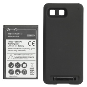3500mAh BF5X Li-ion Extended Battery with Modified Battery Cover for Motorola Bravo MB520