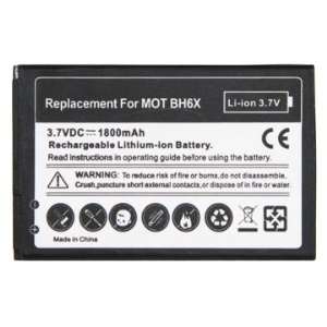 1800mAh Rechargeable Li-ion Battery for Motorola ATRIX 4G BH6X