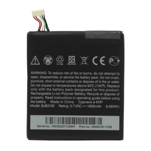 BJ83100 Battery Replacement for HTC One X G23 / One S 1800mAh (OEM)