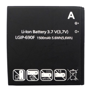 OEM Standard 1500mAh Li-Ion Battery for LG Optimus 7Q C900 Quantum (Pacific) E900 Optimus 7