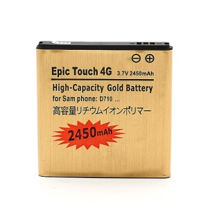 2450mAh EB625152VA Battery for Sprint Samsung Galaxy S2 S II Epic 4G Touch D710 (high capacity)