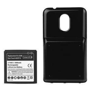 For Samsung Galaxy S II Epic 4G Touch SPH-D710 Extended Battery with Battery Cover 3800mAh