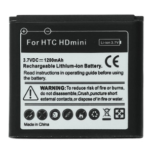 1200mAh Mobile Phone Battery for HTC HD mini T5555