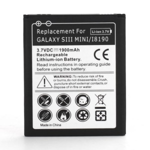 For Samsung I8190 Galaxy S III S3 mini Battery Replacement 1900mAh
