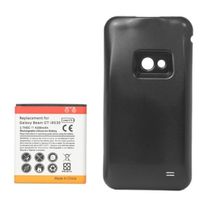 Samsung I8530 Galaxy Beam Extended Battery with Battery Door Cover 4300mAh 3.7V