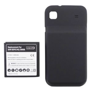 Samsung Galaxy S i9000 Thick Extended Battery and Modified Battery Cover 3500mAh