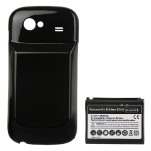 3800mAh Extended Battery Replacement with Battery Cover for Samsung Google Nexus S i9020