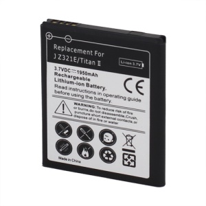 1950mAh Battery Replacement for HTC J Z321e