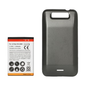 Extended Battery with Battery Cover Door for LG Viper 4G LTE LS840 Sprint 3500mAh
