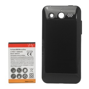 3600mAh Extended Battery + Back Cover Door for Huawei M886 Mercury/Glory