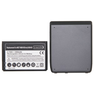 3500mAh BH5X Extended Battery with Matching Battery Cover for Motorola DROID X MB810