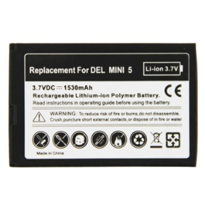 Generic Li-ion Rechargeable Battery for Dell Streak Mini 5 1530mAh