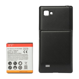 LG Optimus 4X HD P880 Extended Battery with Battery Door Cover 4300mAh 3.7V