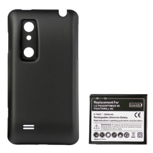 LG Optimus 3D P920 Extended Battery with Special Battery Door Cover 3500mAh