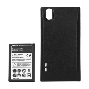 Extended Battery with Battery Door Cover for LG Prada 3.0 P940 (Prada K2) 3500mAh