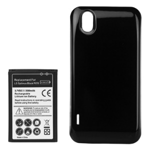 LG Optimus Black P970 Extended Battery with Battery Door Cover 3500mAh