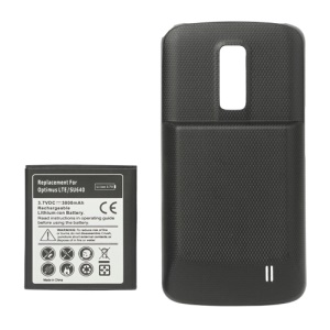 LG Optimus LTE SU640 Extended Battery with Battery Door Cover 3800mAh