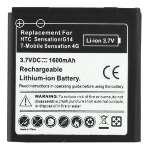 HTC Sensation/ HTC Sensation 4G/ G14 Battery Replacement 1600mAh