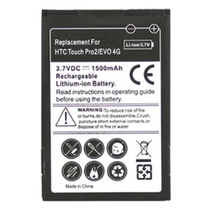 Rechargeable Battery Replacement for HTC Touch Pro2 T7373/ HTC EVO 4G