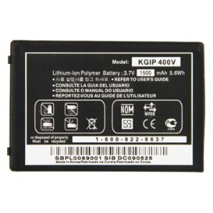 1500mAh Li-ion Battery Replacement for LG Ally VS740 / VS750 Fathom