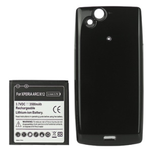 3500mAh Extended Battery with Battery Cover for Sony Ericsson Xperia Arc X12 / Arc S LT18i