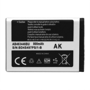 Cell Phone Battery Replacement for Samsung X200 X520 X630