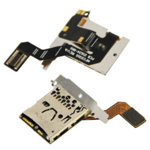 Original Micro SD TF Card Slot Flex Cable for Blackberry Bold 9700