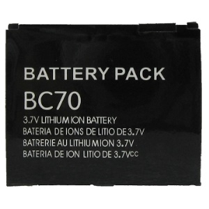 Moto BC70 Battery Replacement for Motorola ROKR E6
