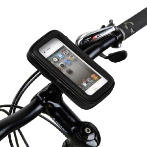 "Waterproof Motorcycle Bike Handlebar Mount 3.5"" for iPhone 4 4S 3G 3GS Samsung S5830"