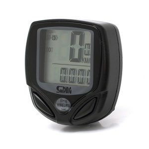 LCD Bicycle Cycling Computer Odometer Speedometer Velometer 14 Functions (SD-588C)